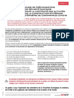Guide de Preconisations Covid 19 Oppbtp