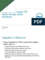 Appendix C - Legacy PS Series Storage Array
