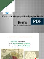 Caracteristici geografice -Brăila