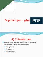 ergothérapie et généralités 1.ppt