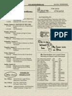 January 9, 2011 Bulletin