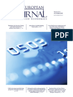 The European Journal of Applied Economics - Vol. 16 Nº 1