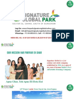 Signature Global Park South Gurgaon