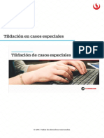 UPC Tildación en casos especiales