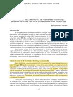 Enrique César Schaller - EL COMERCIO DE LA PROVINCIA DE CORRIENTES DURANTE LA PRIMERA MITAD DEL SIGLO XIX. UN PANORAMA DE SU EVOLUCIÓN