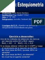 TP5 Estequiometria