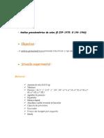 Relatório Análise Granulométrica