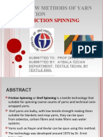 friction spinning