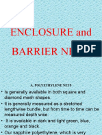 ENCLOSURE and BARRIER NETS