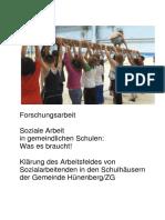 Forschungsarbeit Soziale Arbeit in gemeindlichen Schulen