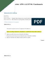 Cuestionario evaluacion 1 ADSI