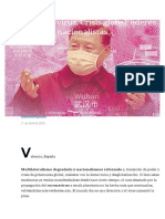 Desafíos del virus. Crisis global, líderes nacionalistas