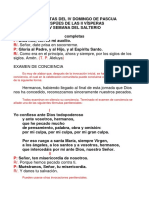 DOMINGO IV PAS. DESP. II VISP., COMPLETAS