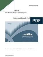 Understand Extrude Tool_Creo Elements