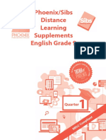 Phoenix-Sibs Distance Learning Supplements ENGLISH Grade 9 Q1