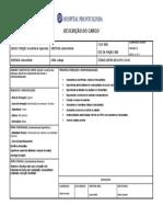 Cópia de Descrição de  Cargo - -assistente de supervisão