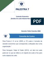 PALESTRA 7.- Controlo Financeiro