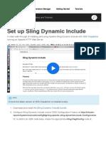 Adobe Sling Model Exporter