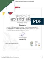 Certificado SNGRE CFB1 _ Cursos Virtuales del Servicio Nacional de Gestión de Riesgos y Emergencias.pdf