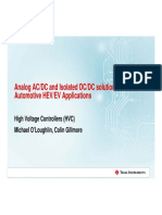 Analog Ac Dc and Isolated Dc Dc Solutions for Automotive Hev Ev Applications Det Tech Day 9-10-18 Mo b