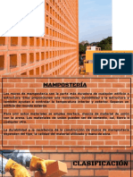 MAMPOSTERIA Y AISL. AC.