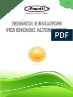 PACETTI - Catalogo ENERGIE ALTERNATIVE - 0313
