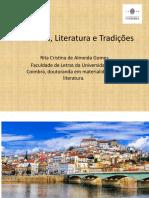 Coimbra, Literatura e Tradições