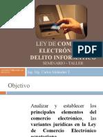 Ley comercio electrónico