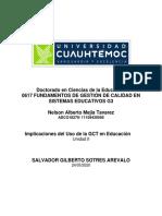 """Implicaciones del uso de la GCT en educación""""_Mejia_Nelson"""