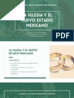 La Iglesia y el Nuevo Estado Mexicano
