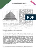 Estándar 86 – Describe las transformaciones que experimenta la  sociedad española durante los años del franquismo