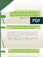OPERACIÓN ECONÓMICA DEL SISTEMA ELÉCTRICO [Autoguardado]