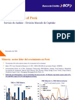4.La Mineria en El Peru -Bcp