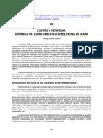 CENTRO Y PERIFERIA. DINAMICA DE ASENTAMIENTOS EN EL REINO DE BAAK