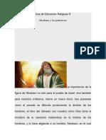 Área de Educación Religiosa 8