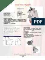 Maquinas  para Procesar Frutas y Vegetales CPRT350GLD2