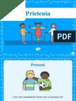 Ce inseamna prietenia - Prezentare PowerPoint (1)