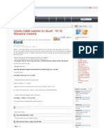 Webmin Install