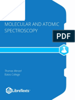 moleculer and atomic spectroscopy