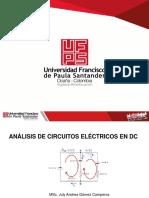 ANÁLISIS DE CIRCUITOS ELÉCTRICOS EN DC