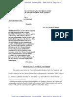 AZ NVRA District Court Sj for Plaintiff