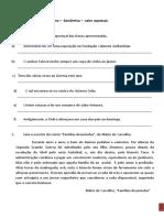 Ficha de trabalho Exame 12 Gram. 5 ( Semântica - (valor aspetual), com correção. (1)
