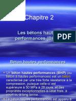 Chapitre 2.  Les bétons hautes performances (BHP).ppt