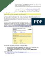 Microsoft Lifecam on WIndows Embedded Standard 2009