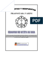 Preguntas Respuestas - Prasnotara Vahini