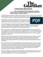 Deep Maternal Alienation