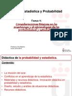 4 didáctica de la estadística y la probabilidad