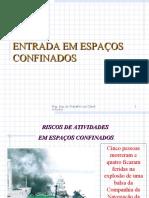 AULA 5 - ESPAÇOS CONFINADOS