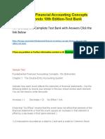 Fundamental Financial Accounting Concepts Thomas Edmonds 10th Edition-Test Bank