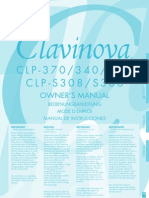 Clavinova CLP-370 User Manual